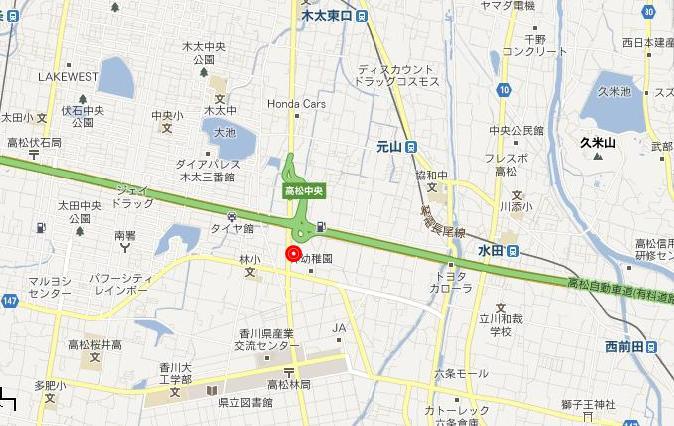 麺飯浪花詳細地図